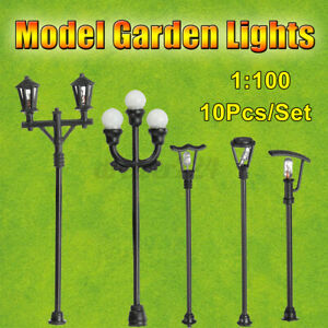 HO Gauge Model Lamps Lamp Posts LED Street Lights OO Packs of x10 *SPECIAL*