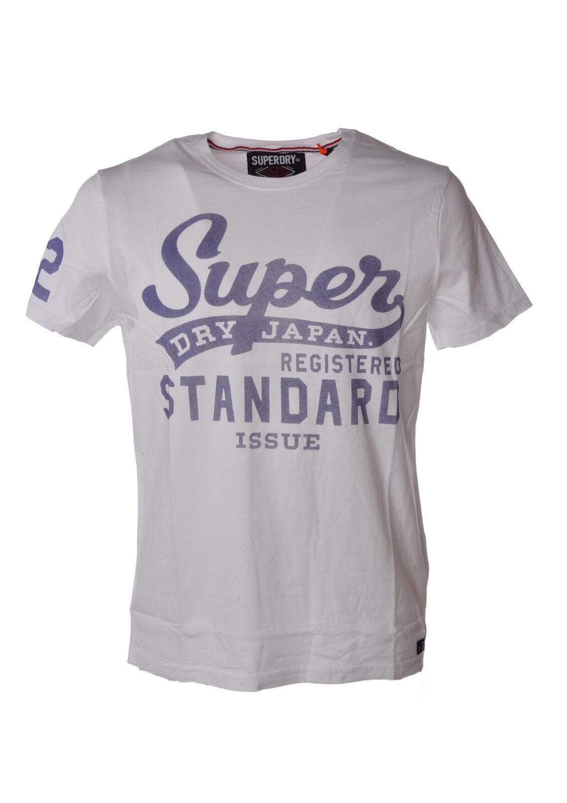 Superdry - Topwear-T-shirts - Mann - Weiß - 3479222B183808