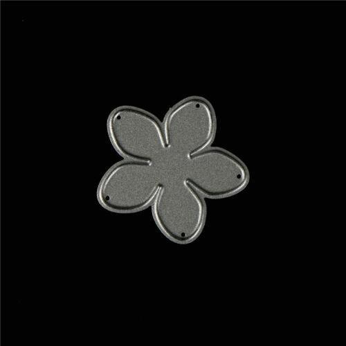 4X attractive Flowers Cutting Dies for DIY Scrapbooking//photo album Decor M/&R
