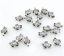 10pcs antiqued copper bail spacer Beads Fit European charm Bracelet  L0062