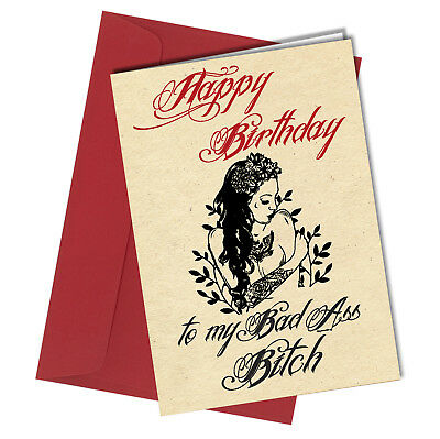 Personalised Adult Funny Rude Birthday Card Flappy Birthday