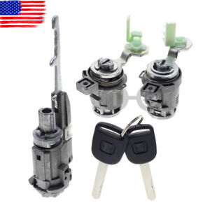 Details About Door Lock Cylinder Set W Ignition Switch Lock For Honda Element 72146 S73 003