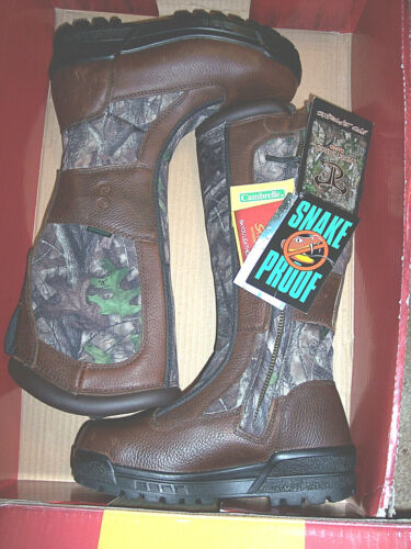 Womens Boots Snake Proof Boots Water Proof Boots Camo Hunting Boots Leather 6.5