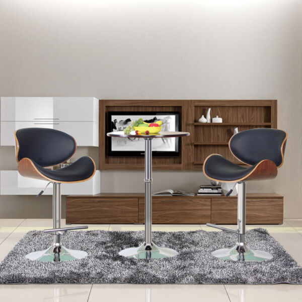 Wondrous Bromi Design Hailey Adjustable Height Swivel Bar Stool For Caraccident5 Cool Chair Designs And Ideas Caraccident5Info