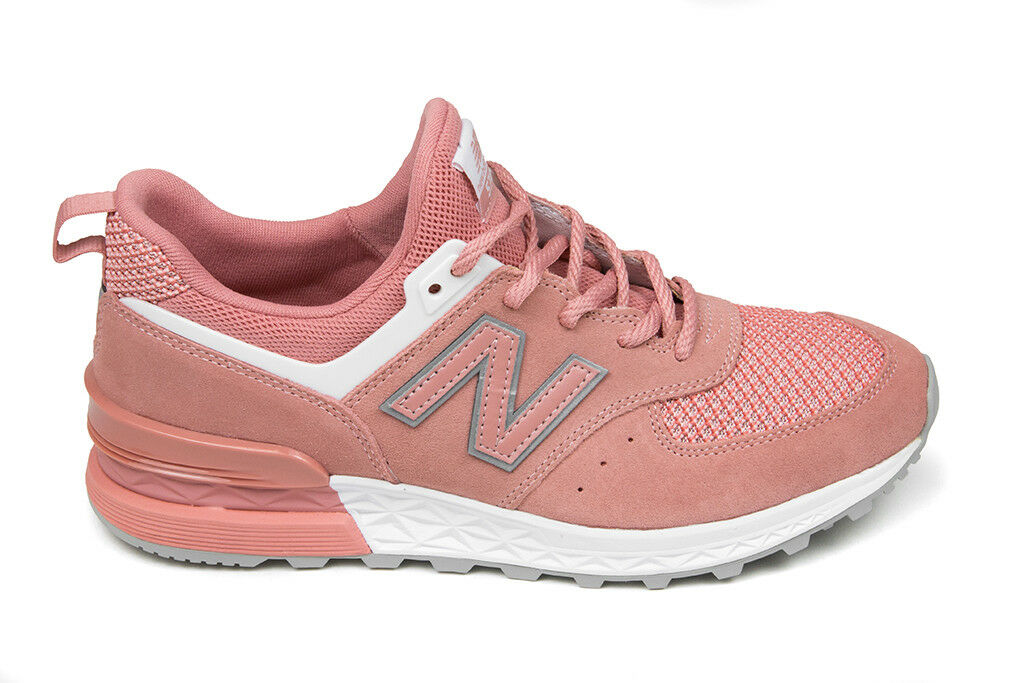 New Balance 574 Sports in Dusted Peach/Munsell Ship White MS574STP BNIB Free Ship Peach/Munsell 0f9895