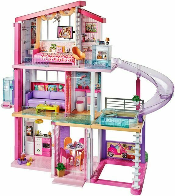 Mattel Barbie Casa dei Sogni a 3 Piani (887961531282)