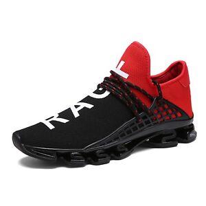 700712ac38c6 Men s Women Fashion Casual Breathable Sneakers Sports Mesh Flyknit ...