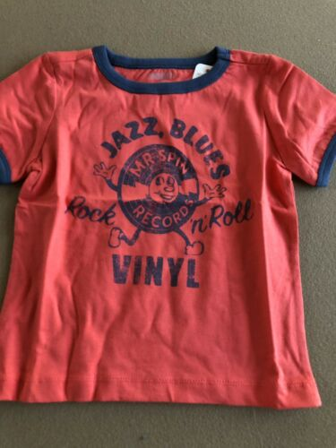 JAZZ BLUES VINYL Gymboree T-Shirt