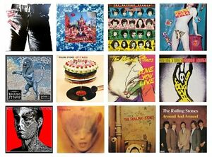 THE WHO VARIOUS TITLES MINIATURE 1//12 Non Playable VINYL RECORD ALBUMS