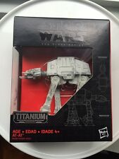Star Wars Black Series Titanium AT-AT #18 vhtf rare