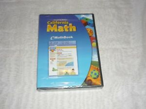 Houghton-Miffin-California-Math-E-Math-Book-NEW-amp-SEALED
