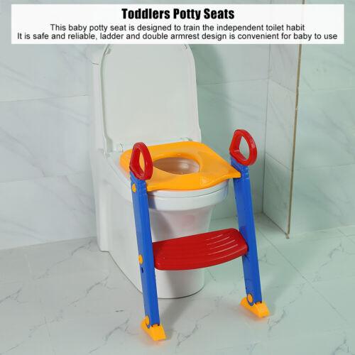 3in1 Toilettentrainer mit Treppe Kinder Lerntöpfchen Baby Toilettensitz Sitz KOK