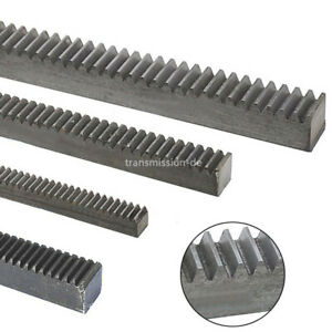Mod 1 1 5 2 Gear Rack 45 Steel 200mm 500mm Length Gear Rack For Motor Accessory Ebay