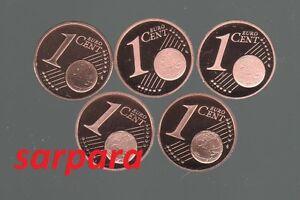 1 Cent ADFGJ  in PP Sie Wählen ab 2002 bis 2012   ab 5 stück portofrei