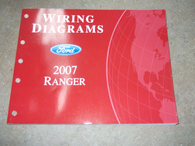 2007 Ford Ranger Truck Electrical Wiring Diagrams Service