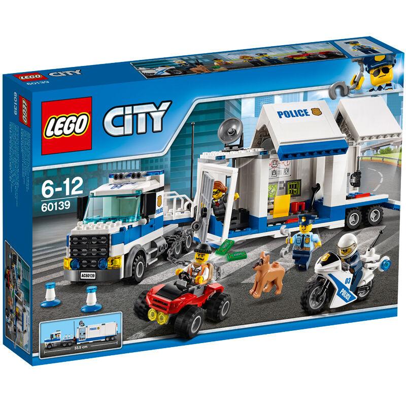 Lego City Mobile Command Center 60139 NEW