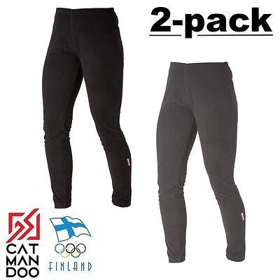 2 Pack - Catmandoo Ladies Thermasoft Micro Fleece Warm Thermal Leggings Pants Hohe Belastbarkeit