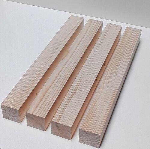 4 Tischfüße 6x6cm Stark wunschmaße. drechselholz planche de bois épicéa//sapin massif