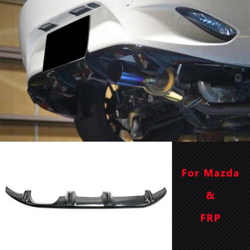 FA Style Fiber Rear Bumper Diffuser Lip FRP For Mazda MX5 ND5RC Miata Roadster