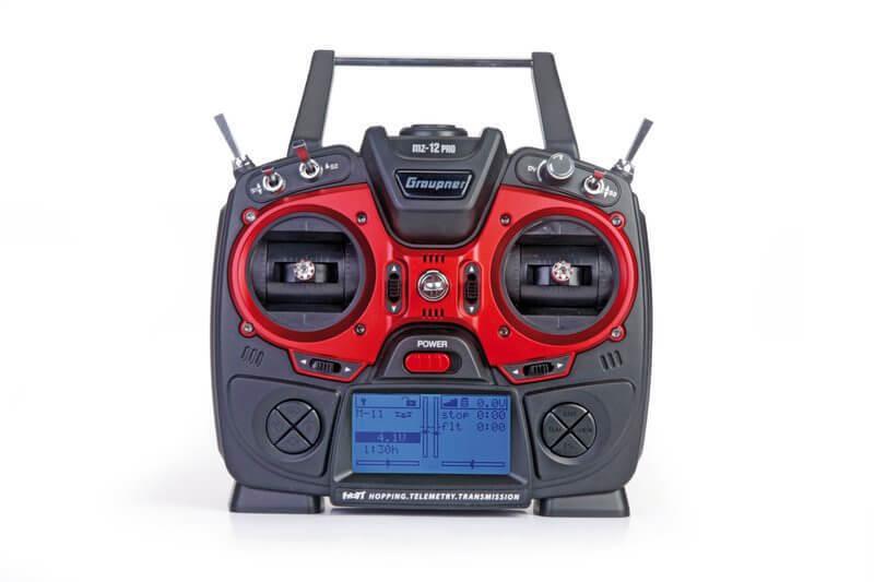 grispner mando a distancia mx-12 hott 2,4 GHz 6-canal