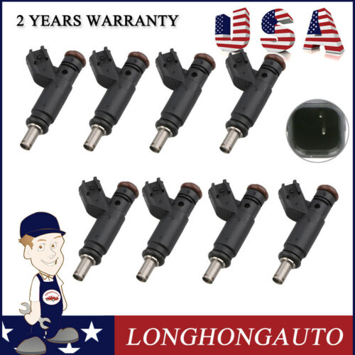 8 Fuel Injectors For 05-07 CHRYSLER 300 06-07 Daytona R//T Commander 04591851AA