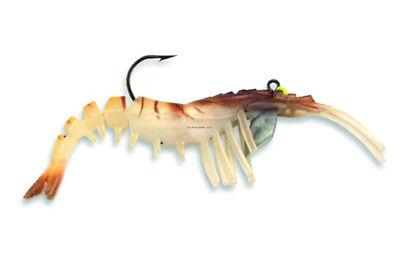 """Egret Baits E-VS35-14-08 3.25/"""" Vudu Shrimp Gold 20656"""