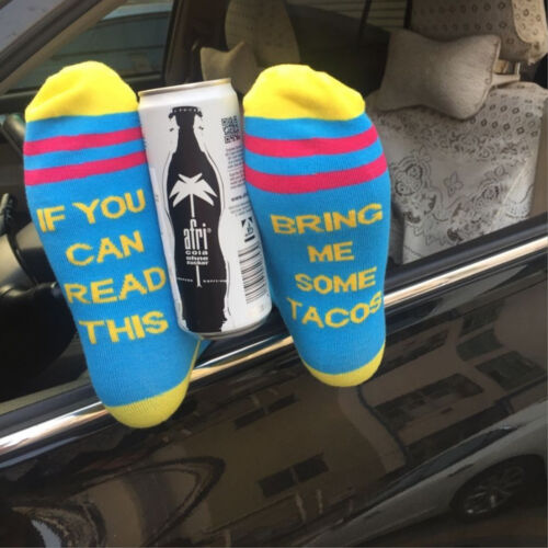 Socks If You Can Read This Bring Me a Glass of Beer Wine Coffee Custom Socks US