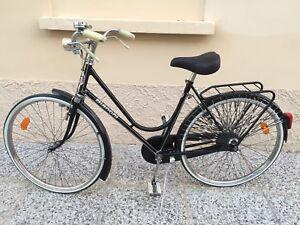 Dettagli Su Bici Italiana Bianchi 26 Vintage 1951 Freni Bacchetta Ottima Ricondizionata