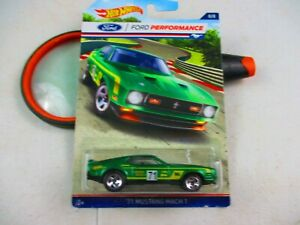 HOT WHEELS 2015 FORD PERFORMANCE SERIES /'71 MUSTANG MACH 1