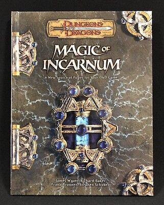 D&D Magic of Incarnum WotC RPG d20 Hardback - New - Mint ...