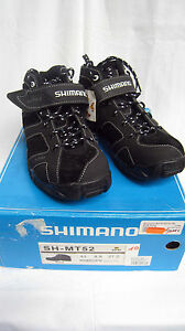 Shimano-SH-MT-52-MTB-Schuhe-Herren-Fahrradschuhe-Leder-Schwarz-Gr-38