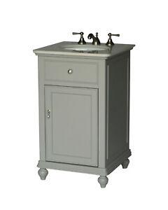 21-Inch Contemporary Style Single Sink Bathroom Vanity ...