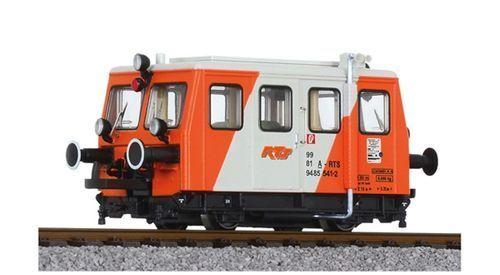 SH Liliput l133008 servicio ferroviario vehículo motor carro de ferrocarril de la rts