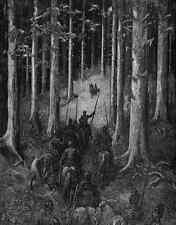 Gustave Dore Orlando Furioso 060 A4 Photo Print