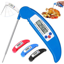 1X Digital LCD Food Thermometer Probe Temperature Kitchen Cooking Meat&Water BBQ