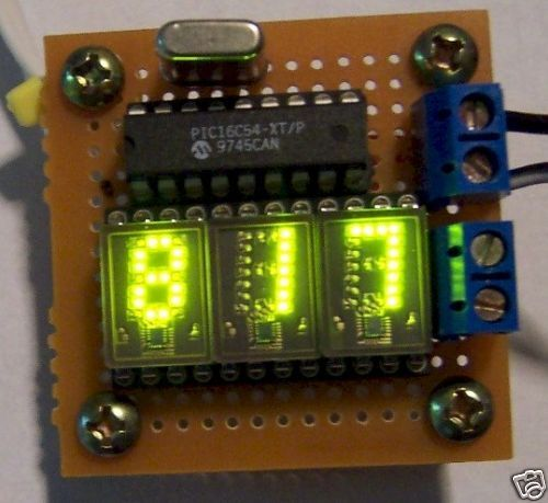 Great LED Display HDSP 0960 Green LED Numeric Smart Display
