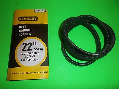 "NEW STANLEY TRANS BELT FITS 26/"" SP MOWERS 7769208 OEM FREE SHIPPING"