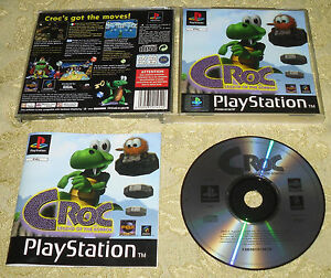 CROC THE LENGEND OF GOBBOS GIOCO PS1 PLAYSTATION 1 PAL ITALIANO - Italia - CROC THE LENGEND OF GOBBOS GIOCO PS1 PLAYSTATION 1 PAL ITALIANO - Italia