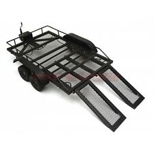 1/10 SCAL HEAVY DUTY ALL METAL TRAILER FOR 1/10 1/8 RC ROCK CRAWLER TRUCK