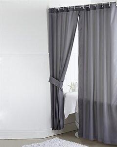 Plain Dyed 100 Polyester Bathroom Single Shower Curtains