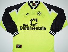 1995-1996 BORUSSIA DORTMUND NIKE HOME FOOTBALL SHIRT (SIZE L)