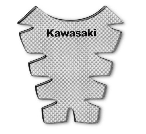 GENUINE KAWASAKI NINJA ZX-6R TANK PROTECTOR PAD CARBON PRINT 2013-2019