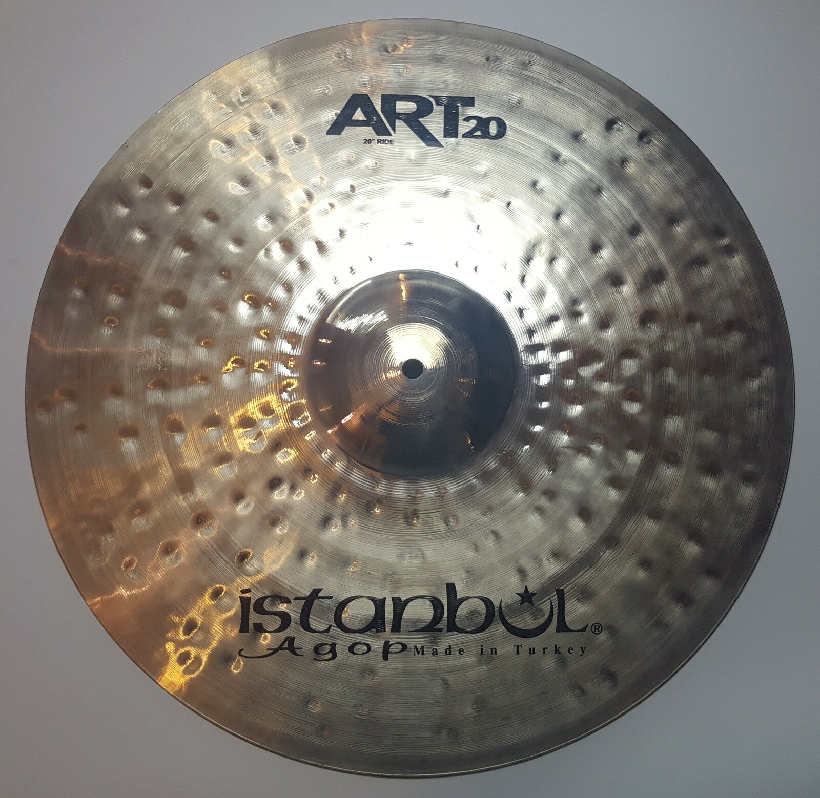 Istanbul Agop Art 20 Series 20  Ride Becken Cymbal Piatto Platillo Cymbale