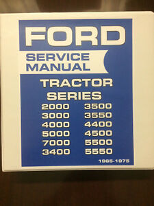 Ford-Tractor-2000-3000-4000-5000-7000-Series-Service-Manual-1965-1975