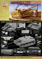DRAGON 6589 - 1/35 WWII Dt. JAGDPANZER IV L/70(V) MIT ZIMMERIT - NEU
