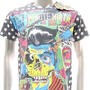 ms16-Minute-Mirth-T-shirt-Tattoo-CLASSIC-Skull-Ghost-Zombie-Walker-Present-Punk