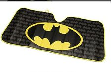 Batman Logo Windshield Sunshade TM & DC Comics WB Shield Plasticolor Brand NEW