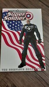 Steve Rogers Super Soldier complete collection Tpb marvel
