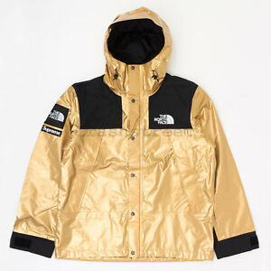 Image Is Loading Supreme Ss18 The North Face Metallic Mountain Parka