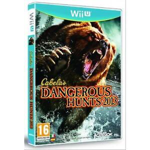 WII-U-WIIU-Cabela-039-s-Dangerous-Hunts-2013-SAS-NUOVO-Versione-Italiana